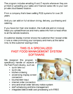 LOOKING FOR A FAST FOOD POS MANAGEMENT SYSTEM ? AT 50% OFF !