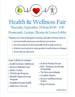 Timmins and District Hospital Health & Wellness Fair
