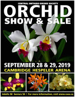 34th annual Orchid Show & Sale