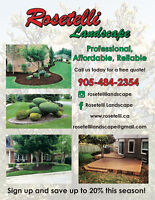 Rosetelli Landscape: Professional and Affordable Service