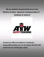 Working At Heights Training Provider