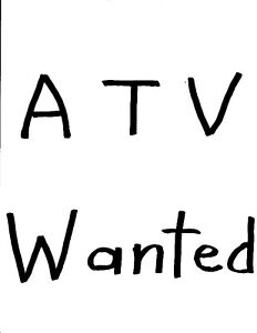 Chinese ATV: Wanted: CASH: