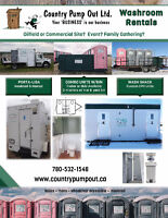 Portable Toilets and Disposal Bins