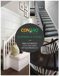 Great Rates, Great Dates on All Flooring & Stair Projects Stratford Kitchener Area image 1