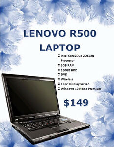 WINTER LAPTOP SALE - Lenovo R500 Laptop Only $149!