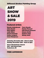 Different Strokes Artist Group  Art Show and Sale