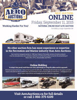 ONLINE AUCTION - FEATURING MARINE & RECREATION PRODUCTS!