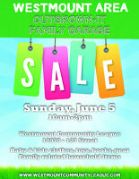 Westmount Area Outgrown It Family Garage Sale
