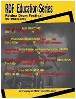 2015 REGINA DRUM FESTIVAL EDUCATION SERIES