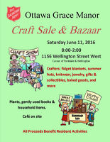 Ottawa Grace Manor Craft Sale & Bazaar