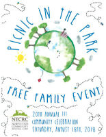 Event Volunteers - 20th Annual Picnic in the Park 2018
