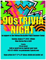 90s Trivia Night Fundraiser!