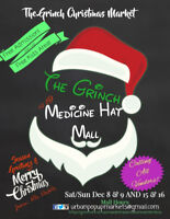 The Grinch Christmas Market Medicine Hat Mall