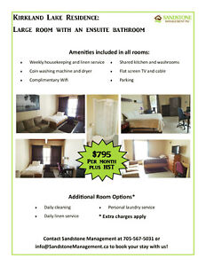 Rent a room for as long as you need it!!