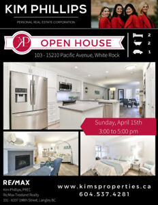 OPEN HOUSE Sunday, April 15th 3:00-5:00