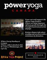 Power Yoga Canada Mississauga, Hot Yoga Karma Class