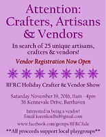 Seeking Crafters & Vendors!!!