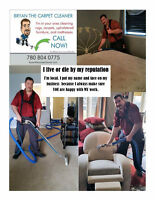 LOCAL HOME OR BUSINESS STEAM CLEANING 780.804.0775
