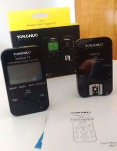 Yongnuo Flash Trigger Kit with warranty card, bought in 2017
