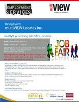 Job Fair on March 13: Hiring 20 Utility Locators