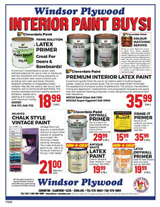 GOOD AND CHEAP INTERIOR PAINT BUYS