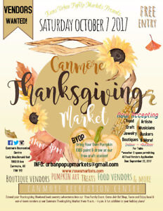 Canmore Thanksgiving Market