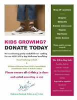 Looking For: KIDS CLOTHING DONATIONS