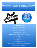 Pave Fitness- Boot Camp