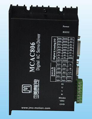 400w Brushless Dc Servo Motor Driver 36v-80vdc 1250 Line Jmc Mcac806