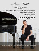John Stetch in Concert: Wednesday, September 28, 7pm