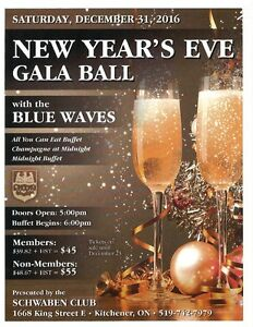 NEW YEAR'S EVE GALA BALL Kitchener / Waterloo Kitchener Area image 1