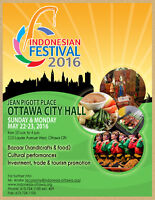 Indonesian Festival 2016 (Volunteers Opportunity)