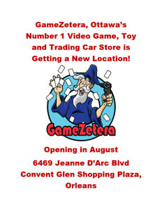 GameZetera is Opening a New Location for Video Games in Orleans!