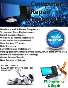 Desktop computers and repairs