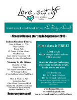 Indoor/Outdoor and Mommy and Me fitness classes
