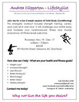 Total Body Conditioning - 5 Week Session