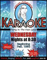 Karaoke at Dooly's Lower Sackville WEDNESDAY'S starting Feb. 10!