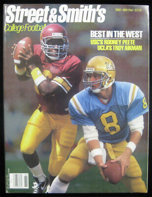 Street Smith's 1988 College Football Yearbook - Troy Aikman Emmitt Deion Sanders