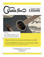 """GUITAR LESSONS With An Experienced """"Certified"""" Music Teacher"""