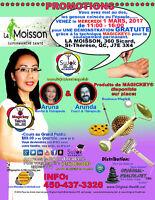 Consultation et soulagement gratuit au SuperMarche La MOISSON 1