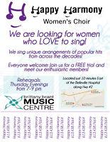 Happy Harmony Women's Choir