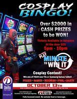 Cosplay Bingo
