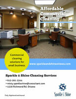 Commercial & Small Business Cleaning Services