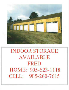 INDOOR STORAGE FOR RENT