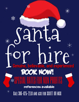 Santa for Hire for Lloydminster and Area!