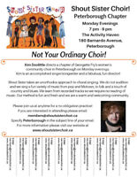 Do You Love to Sing? We are Welcoming New Members!