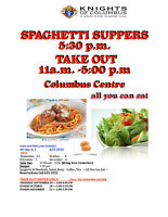 Knights of Columbus Monthly Spaghetti