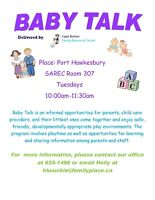 Baby Talk Playgroup for Newborn to 24 Months
