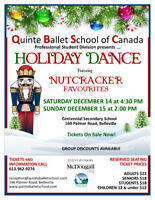 Quinte Ballet presents Holiday Dance and The Nutcracker