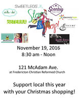 Stop 'N' Shop Sale to support Fredericton Christian Preschool